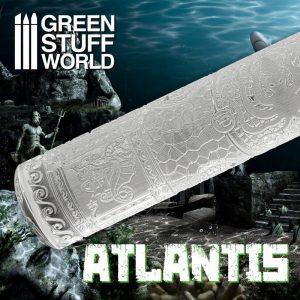 Green Stuff World   Rolling Pins Rolling Pin ATLANTIS - 8436574508611ES - 8436574508611