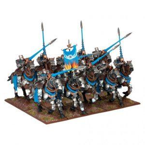 Mantic Kings of War  Forces of Basilea Basilean Paladin Knight Regiment (10) - MGKWB25-1 - 5060208865059