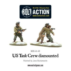 Warlord Games Bolt Action  United States of America (BA) US Tank Crew Dismounted - WGB-AI-41 - 5060393702948