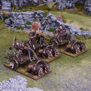 Mantic Kings of War  Ogres Ogre Chariot Regiment - MGKWH104 - 5060208868869