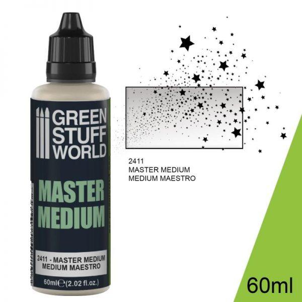 Green Stuff World   Specialist Paints Master Medium (60ml) - 8436574507706ES - 8436574507706