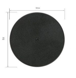 Games Workshop (Direct)   Plain Bases Citadel 130mm Round Base - 99079999012 - 5011921064717