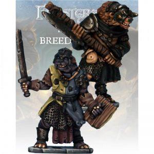 North Star Frostgrave  Frostgrave Gnoll Knight & Templar - FGV219 -