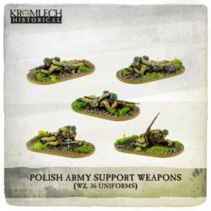 Kromlech   Kromlech Historical Polish Army Support Teams (5) - KHWW2009 - 5902216118102