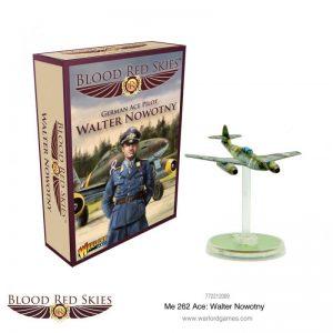 Warlord Games Blood Red Skies  Blood Red Skies Blood Red Skies: Messerschmitt Me 262 Ace Walter Nowotny - 772212009 -