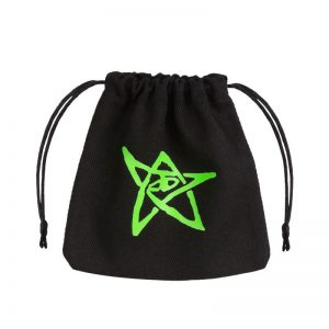 Q-Workshop   Dice Accessories Call of Cthulhu Black & green Dice Bag - BCTH103 - 5907699491704