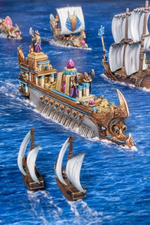 Mantic Kings of War Armada  Empire of Dust Empire of Dust Monolith - MGART401 - 5060469666792