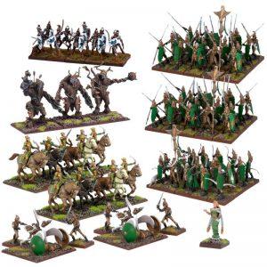 Mantic Kings of War  Elf Armies Elf Mega Army (2017) - MGKWE111 - 5060469661452