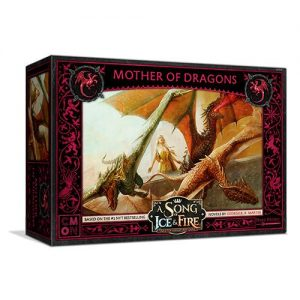 Cool Mini or Not A Song of Ice and Fire  House Targaryen A Song of Ice and Fire: Targaryen Mother of Dragons - CMNSIF608 - 889696011206