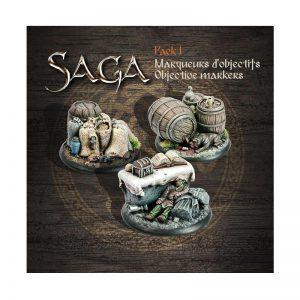 Gripping Beast SAGA  SAGA SAGA Objective Markers 1 - SAGAOM1 -