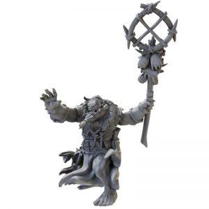Mantic Kings of War  Ogres Ogre Warlock (2021) - MGKWH202 - 5060469666945