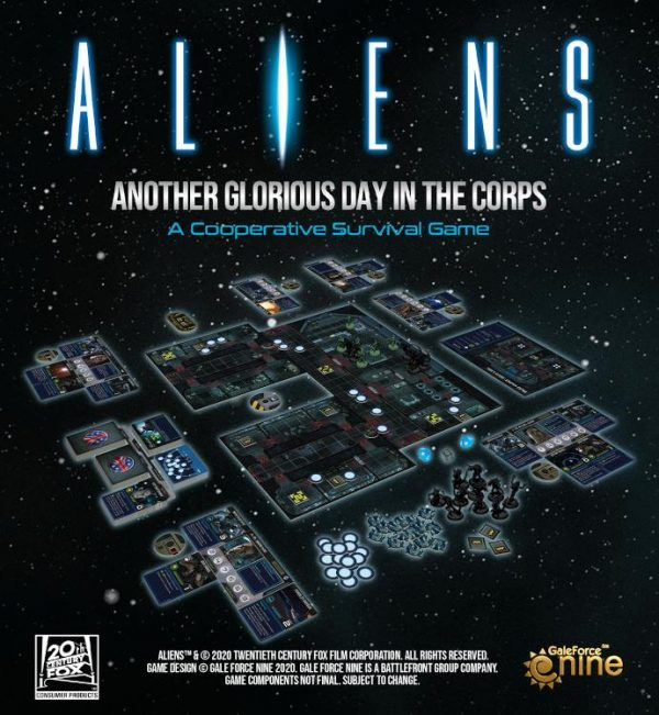 Gale Force Nine Aliens: Another Glorious Day In The Corps  Aliens: Another Glorious Day In The Corps Aliens: Another Glorious Day In The Corps - ALIENS01 - 9781947494497