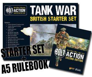 Warlord Games Bolt Action  Tank War Tank War: British starter set - 409911050 - 5060393707783