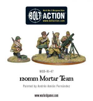 Warlord Games Bolt Action  Soviet Union (BA) Soviet 120mm Mortar - WGB-RI-22 - 5060200847244