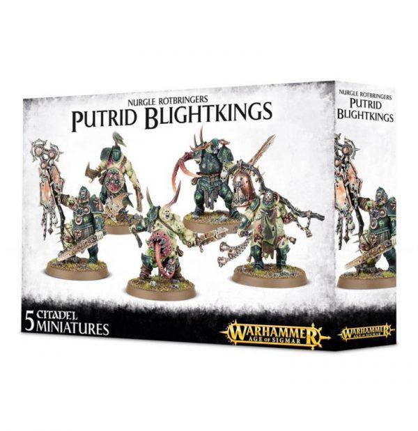 Games Workshop Age of Sigmar  Maggotkin of Nurgle Putrid Blightkings - 99120201041 - 5011921063789