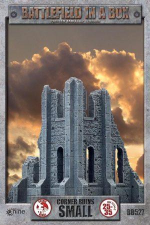 Gale Force Nine   Battlefield in a Box Battlefield in a Box: Small Corner Ruin - BB527 - 9420020216563