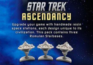 Battlefront Star Trek: Ascendancy  Star Trek Ascendancy Star Trek Ascendancy: Romulan Starbases - ST031 - 9420020237407