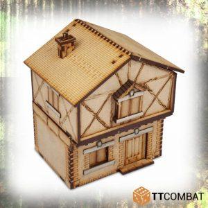 TTCombat   World War Scenics 25mm Village Maison Belle - TTSCW-WAR-036 -
