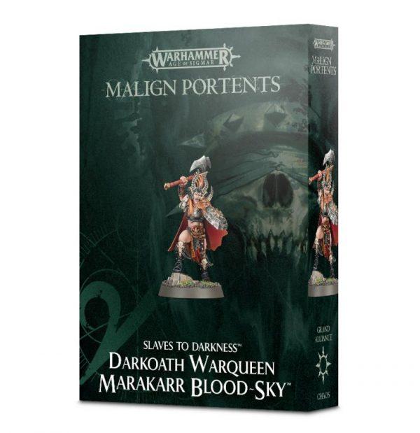 Games Workshop (Direct) Age of Sigmar  Slaves to Darkness Darkoath Warqueen Marakarr Blood-sky - 99120201076 - 5011921098583
