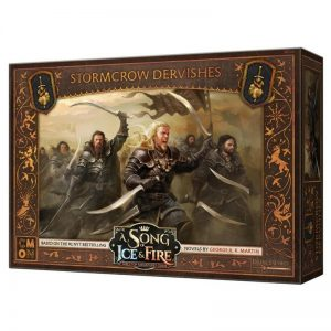 Cool Mini or Not A Song of Ice and Fire  Neutral A Song of Ice and Fire: Neutral Stormcrow Dervishes - CMNSIF513 - 889696010131