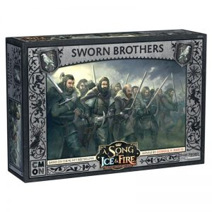 Cool Mini or Not A Song of Ice and Fire  Night's Watch A Song of Ice and Fire: Sworn Brothers - CMNSIF301 - 889696008176