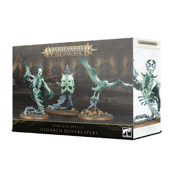 Games Workshop Age of Sigmar  Ossiarch Bonereapers Endless Spells: Ossiarch Bonereapers - 99120207082 - 5011921128075