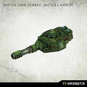 Kromlech   Imperial Guard Conversion Parts Battle Tank Turret: Battle Cannon (1) - KRVB086 - 5902216119765