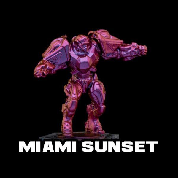 Turbo Dork   Turbo Dork Miami Sunset Turboshift Acrylic Paint 20ml Bottle - TDMIACSA20 - 631145994888