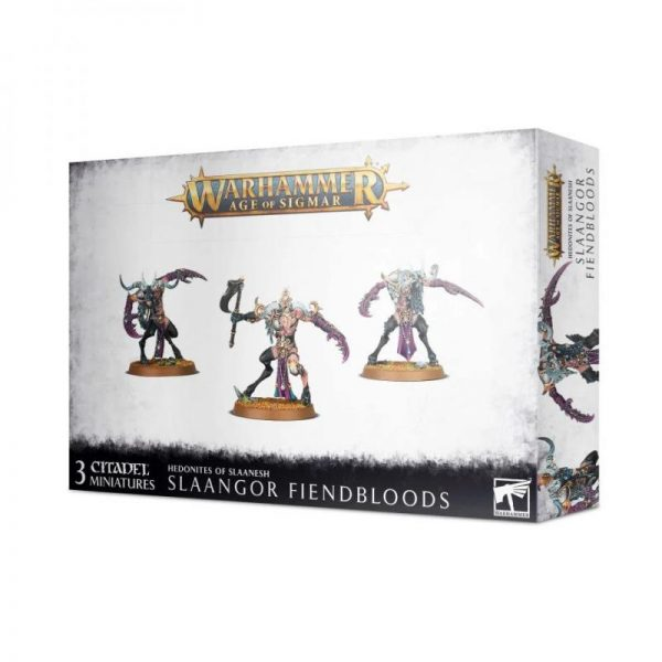 Games Workshop Age of Sigmar  Hedonites of Slaanesh Slaangor Fiendbloods - 99120201106 - 5011921128150