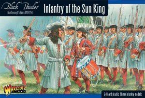 Warlord Games Black Powder  Marlborough's Wars Marlborough's Wars: Infantry of the Sun King - 302015003 - 5060393704645