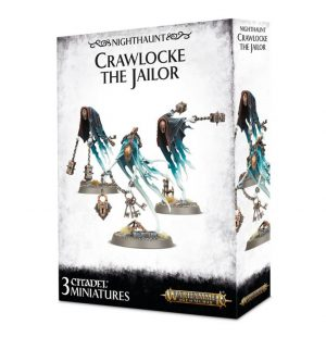 Games Workshop (Direct) Age of Sigmar  Nighthaunts Crawlocke the Jailor & Chainghasts - 99120207060 - 5011921100828