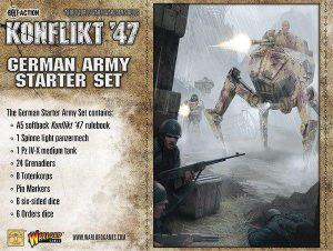 Warlord Games Konflikt '47  SALE! German K47 Starter Set - 451510201 - 5060393704218