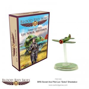 Warlord Games Blood Red Skies  Blood Red Skies Blood Red Skies: Polikarpov I-16 Ace: Lev 'Sokol' Shestakov - 772211018 - 5060572503212