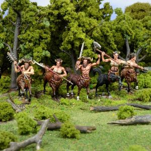 Mantic Kings of War  Forces of Nature Forces of Nature Centaur Troop - MGKWN303 - 5060208869668