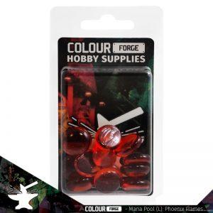The Colour Forge   Glass Gems Mana Pool: Phoenix Flames (large) - TCF-MP-0249 - 5060843100249