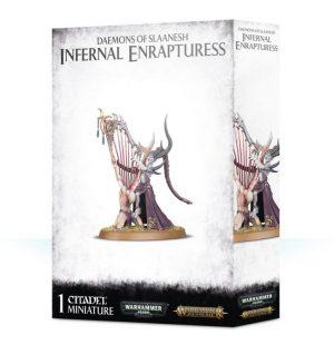 Games Workshop (Direct) Warhammer 40,000 | Age of Sigmar  Chaos Daemons Daemons of Slaanesh Infernal Enrapturess - 99129915053 - 5011921114061