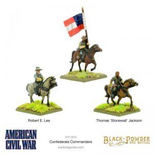 Warlord Games (Direct) Black Powder Epic Battles  Black Powder Epic Battles Epic Battles: American Civil War Confederate Command - 315114015 -