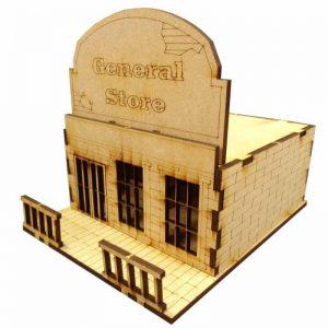 TTCombat   Wild West Scenics (28-32mm) General Store - WWS003 - 5060504042345