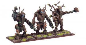 Mantic Kings of War  Elf Armies Forest Shambler Regiment - MGKWE101 - 5060208868395