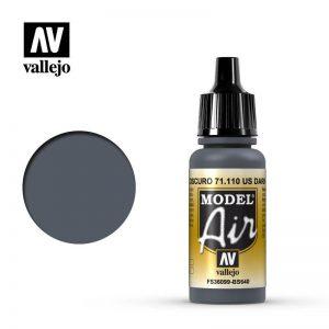 Vallejo   Model Air Model Air: US Dark Grey - VAL110 - 8429551711104
