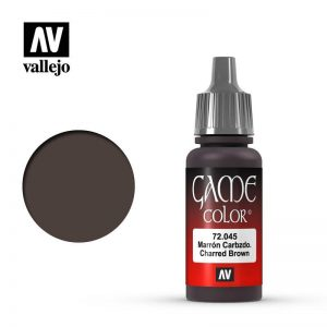 Vallejo   Game Colour Game Color: Charred Brown - VAL72045 - 8429551720458