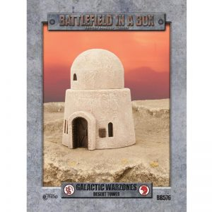 Gale Force Nine   Battlefield in a Box Galactic Warzones: Desert Tower - BB579 - 9420020239876