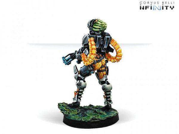 Corvus Belli Infinity  Tohaa Neema Saatar, Ectros Regiment Officer (Spitfire) - 280933-0676 - 2809330006762