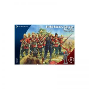 Perry Miniatures   Perry Miniatures British Infantry (Zulu War) 1877 - 1881 - VLW20 - vlw 20