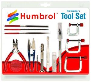 Humbrol   Humbrol Glue & Tools The Kit Modeller's Tool Set Medium - AG9159 - 5010279391599