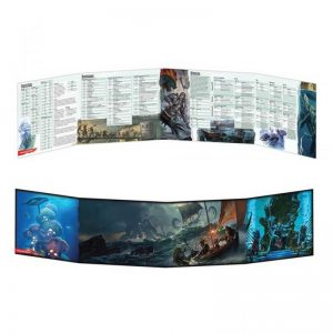 Gale Force Nine Dungeons & Dragons  D&D Extras D&D: Of Ships & The Sea Dungeon Master Screen - GFN73711 -