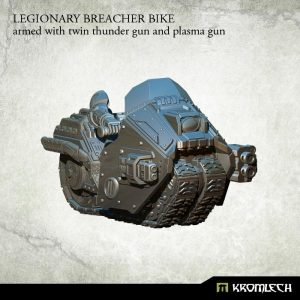 Kromlech   Legionary Model Kits Legionary Breacher Bike (1) twin thunder gun & plasma gun - KRM104 - 5902216113916