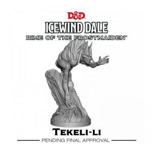 Gale Force Nine Dungeons & Dragons  D&D Miniatures D&D: Icewind Dale: Rime of the Frostmaiden - Tekeli-li - GFN71121 - 9420020250949