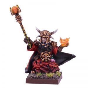 Mantic Kings of War  Abyssal Dwarves Abyssal Dwarf Iron-caster - MGKWK102 - 5060208868067