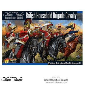 Warlord Games Black Powder  British (Napoleonic) British Household Brigade - 302011001 - 5060393706250